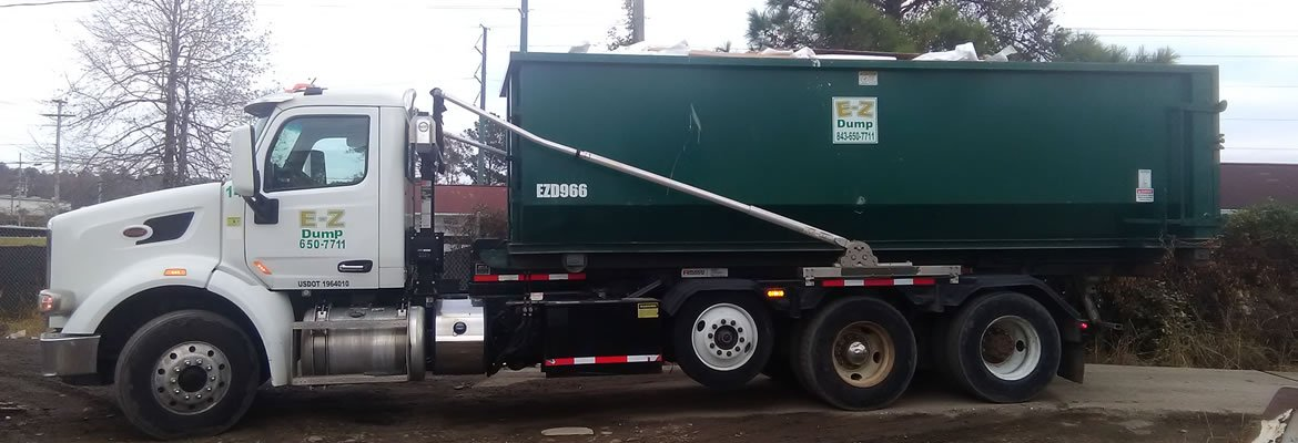30 yard dumpster on truck 2